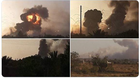Λιβύη: Μαχητικά αεροσκάφη του Χαφτάρ σε δράση.Χτυπήθηκαν αποθήκες πυρομαχικών
