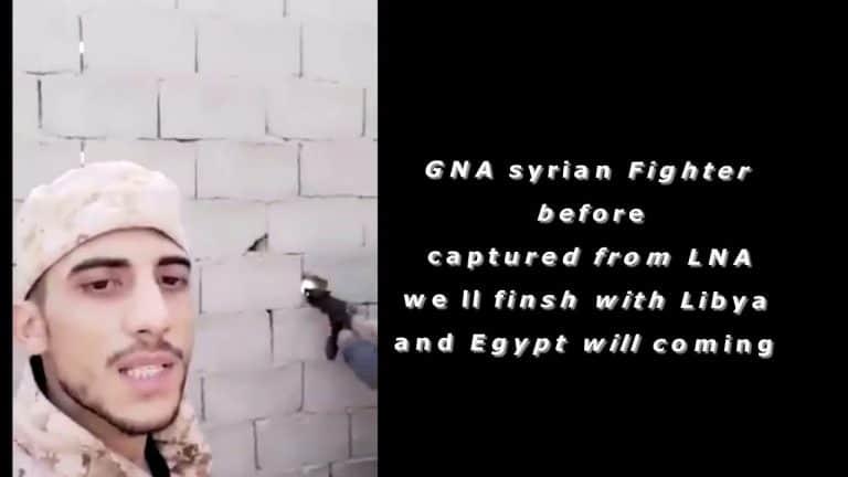 Σύριος μισθοφόρος στη Λιβύη